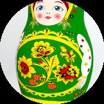Матрешка GREEN